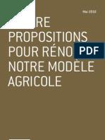 Quatre propositions pour rénover notre modèle agricole - Pascal Perri