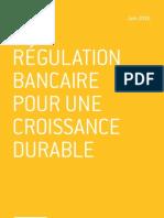 Une régulation bancaire pour une croissance durable - Nathalie Janson