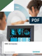 MRI Acronyms
