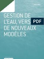 Gestion de l'eau, vers de nouveaux modèles - Antoine Frérot