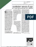 Casini può sostituire mezza Lega- Italia Oggi 24.08.11
