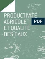 Productivité agricole et qualité des eaux - Gérard Morice