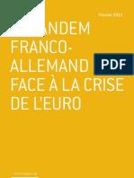 Le tandem franco-allemand face à la crise de l'euro - Wolfgang Glomb