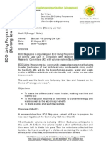 ECO Living Programme @ Lor Lew Lian Audit 5 Report (Energy Water)