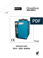Donaldson Process Chiller Manual Mini