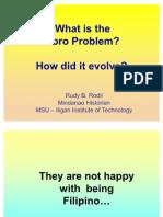 Moro Problem