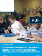 Innocenti Insight - Children in Immigrant Families in Eight Affluent Countries
