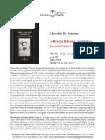 Scheda Mircea Eliade Esoterico