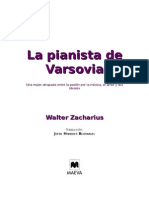 Zacharius Walter - La Pianista de Varsovia