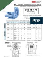 UNI JET 75 Dust Purge Air Uni