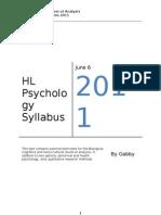 IB Psychology HL Biological LOA