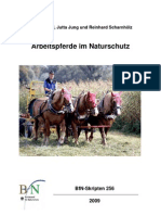 Einsatz Arbeitspferde Im Naturschutz