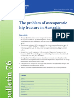 The Problem of Osteoporotic Hip Fracture in Australia