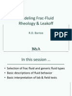C7 - Modeling Frac-Fluid Rheology and Leakoff