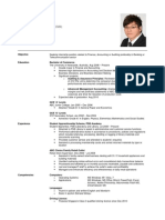 Sample Resume 2011