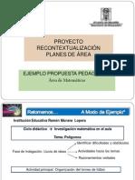 Presentacion Ejemplo Propuesta Pedagogic A- Matematicas[1][1]