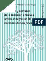 Opiniones y actitudes de la población andaluza ante la inmigración(III)_ Más allá del discruso funcionalista