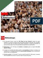 Buzz Politique du Nouvel Observateur du 17 au 23 août 2011