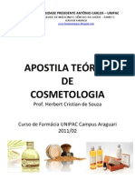 Apostila Teórica Cosmetologia 2011-02