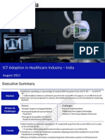 Market Research Report :ICT Adoption in Healthcare Industry in  India 2011