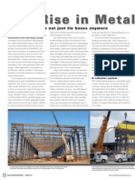 The Rise in Metal Building Systems
