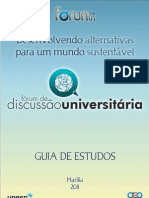 Guia - III FDU - Armamentismo