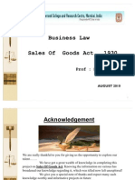 BL GP3 Sales of Goods Act