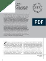 Cdn banking - the 4 pillars