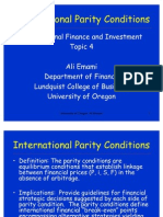 International Parity Conditions 2 (1)