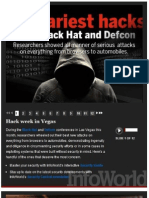 The 10 Scariest Hacks From Black Hat and Defcon Conferences