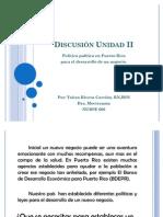 Discusión Unidad II