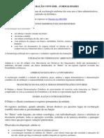 ESCRITURAÇÃO CONTÁBIL - FORMALIDADES