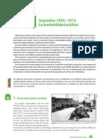 06- La inestabilidad política (1955-1973)
