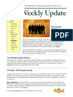 Weekly Update 2011.25.8