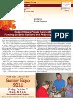 Rep. Causer Fall 2011 Newsletter