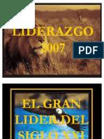 LIDERAZGO 2007