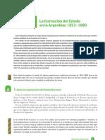01- La formación del Estado en Argentina (1853-1880)