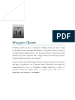 34 Wrapper Classes