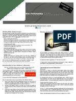 September '11 edition of Grace News