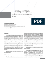 Aglay Sanchez - Da Magia à Sedução - a importância das atividades educativas em Museu de Arte