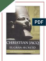 El Gran Secreto - Los Misterios de Osiris 4 - Christian Jacq