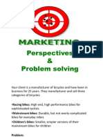 An Approach to a Mktg Problem