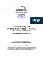Customize Frame Generator of 2