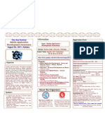 Seminar on Mobile Applications Brochure