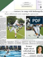 The Collegian - Sports - Aug. 21, 2011