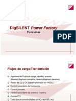 DIgSILENT Power FactoryFunciones