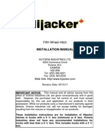 Hitch Install Manual 031511
