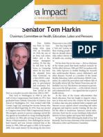 Senator Tom Harkin - biography for Iowa Impact Medical Innovation Summit