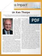 Dr. Ken Thorpe - biography for Iowa Impact Medical Innovation Summit