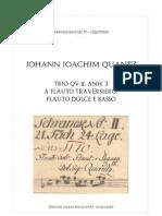 Quantz Trio Do Maggiore QV 2 Anh 3 Score
